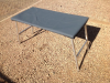 Aluminium camping table